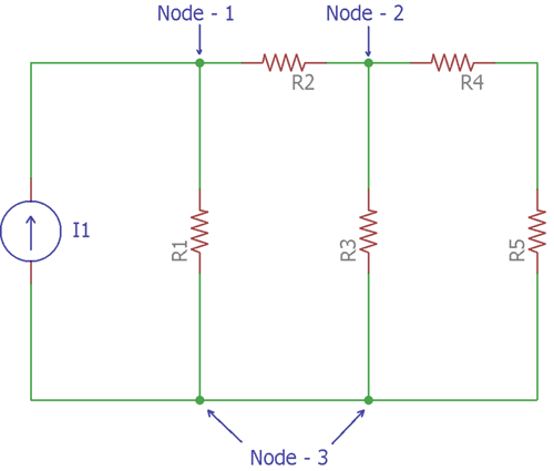 Finding Voltage using Nodal Analysis