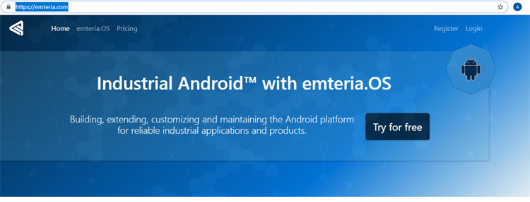 Installing Android on a Raspberry Pi 3 using Emteria OS