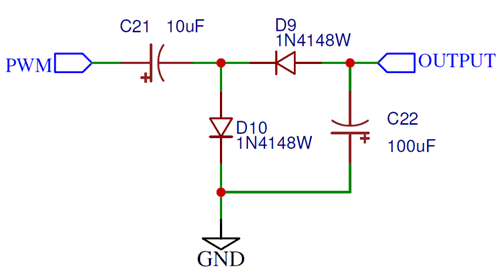 Inverter on Charge Pump Circuit