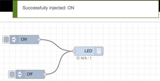 Led Controls using Node-Red
