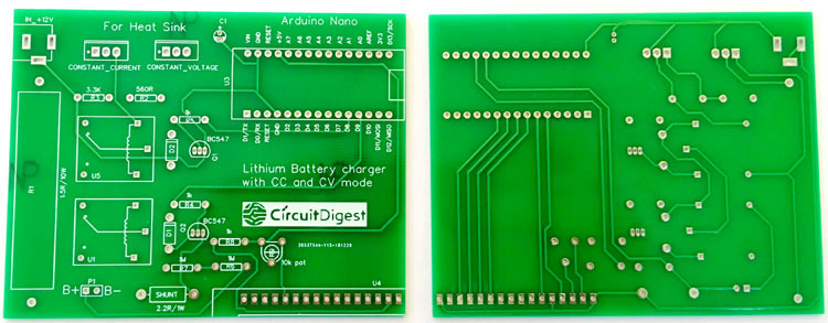 Lithium Charger PCB