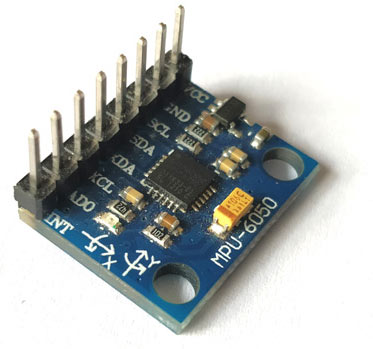 MPU6050 Accelerometer and Gyroscopic Sensor Module