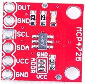 MSP4725 DAC Module Pinout