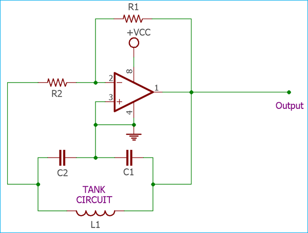 Colpitts Oscillator: Overview of Transistors and Op-amp