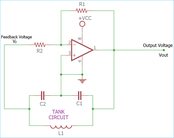 Hartley Oscillator Circuit Using Opamp | #1 Wiring Diagram Source