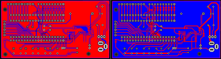 PCB Design of Control Unit for Digital Clock