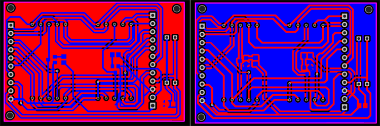 PCB Design of Digital Unit