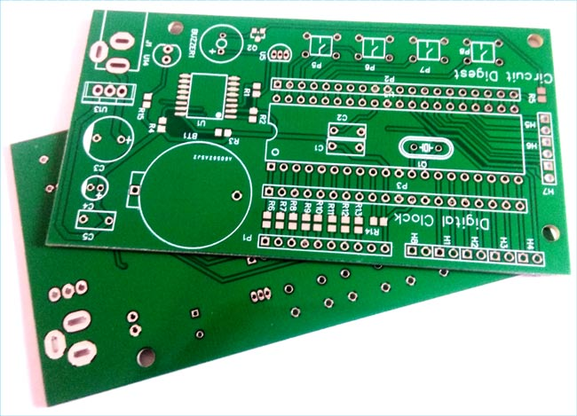 PCB for Digital Wall Clock