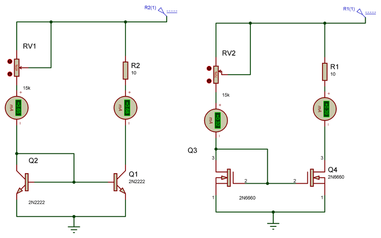 Practical Model for Current Mirror Circuit