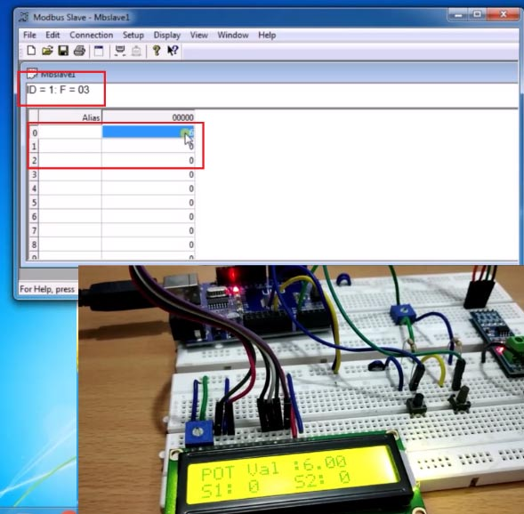 Setup Resistors for RS-485 MODBUS Serial Communication with Arduino