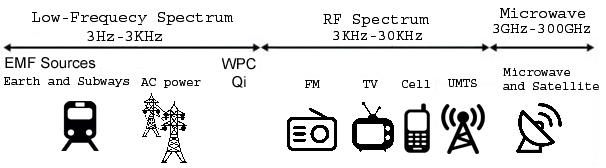 Sources of RF signal