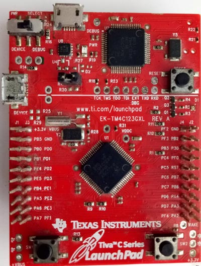Getting Started with TIVA C Series TM4C123G LaunchPad from
