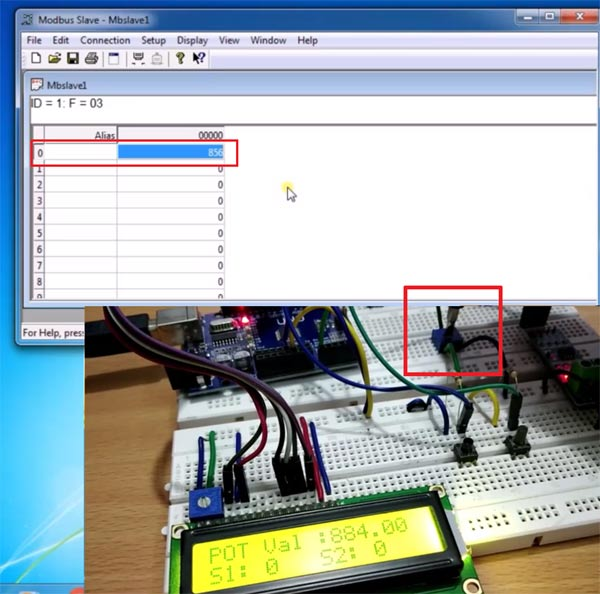Tested RS-485 Modbus for serial communication with Arduino
