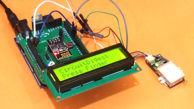 Testing the complete IoT based Arduino Attendance System