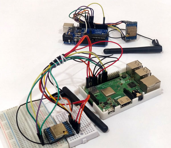 Testing LoRa Communication between Raspberry Pi and Arduino