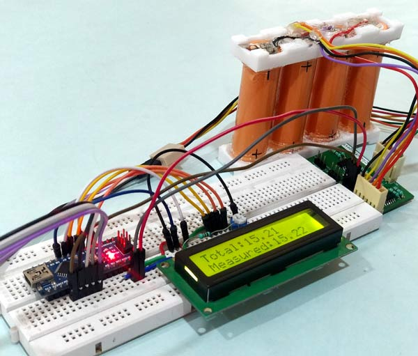 Multicell Voltage Monitoring for Lithium Battery Pack in