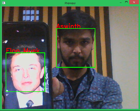 Testing Real Time Face Recognition with Raspberry Pi and OpenCV