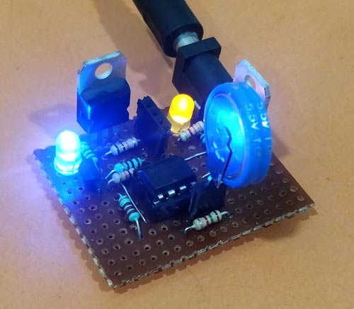 Testing Supercapacitor Charger Circuit