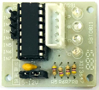 ULN2003 Stepper Motor Driver IC