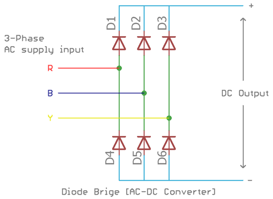 What is Variable Frequency Drive Circuit: Its Operation ... Vfd Wiring Diagram Parallel on