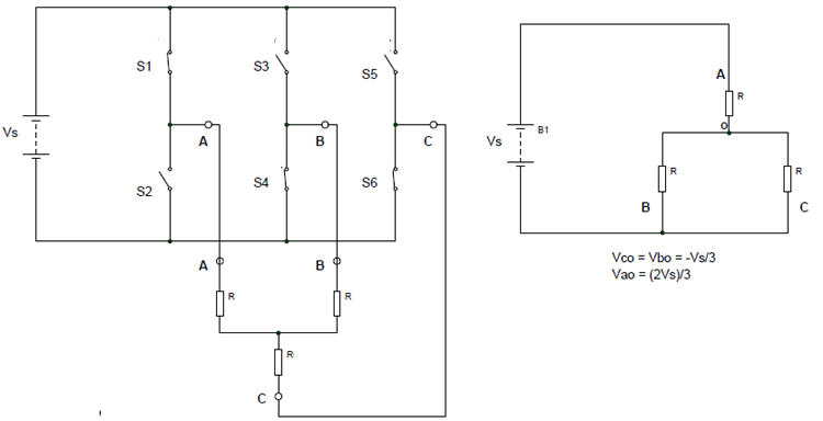 Three Phase Inverter- 180 Degree Conduction Mode