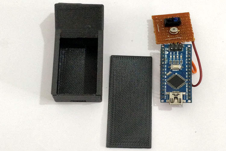 3D Printed enclosure for Contactless Thermometer