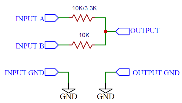 Additive Analog Mixer Circuit