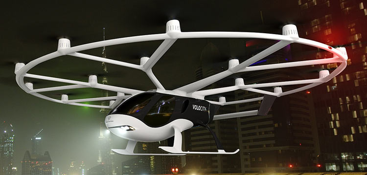 Air Taxi by Volocopter