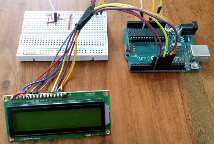Arduino FreeRTOS Hardware Setup