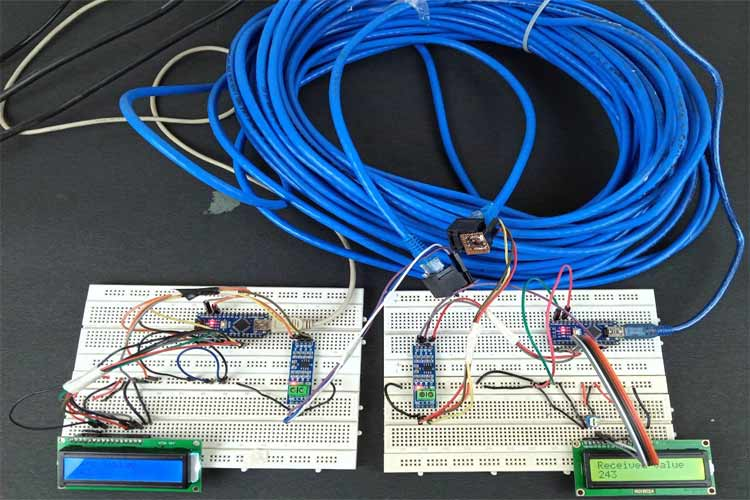 Arduino Wired Communication