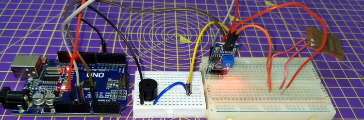Arduino Based Rain Detection System