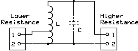 Autotransformer matching Circuit