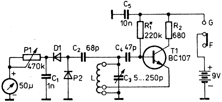 A basic TDO circuit