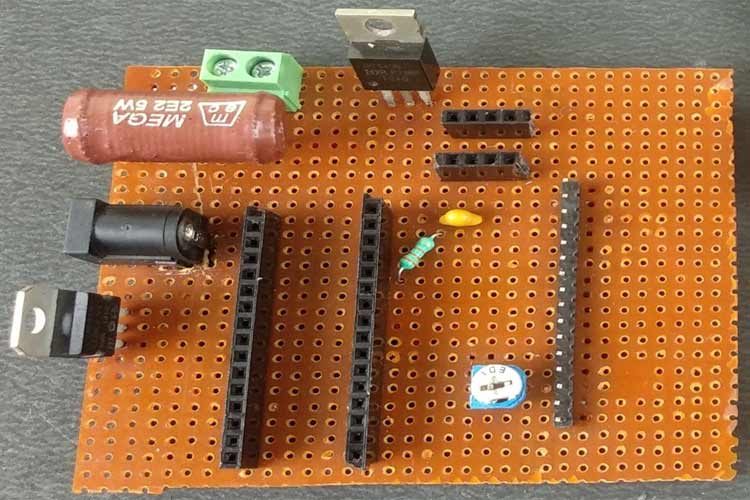 Battery Capacity Tester Board