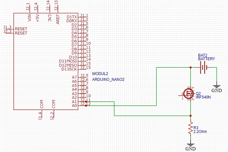 Battery Capacity Tester Circuit