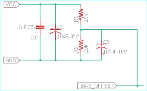 Biasing Offset Circuit
