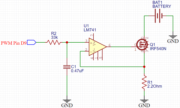 Constant Load Current Circuit