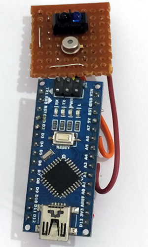 Contactless Thermometer Setup