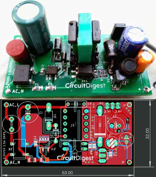 Pcb Layout Design Guidelines For Switch Mode Power Supply Smps Circuits
