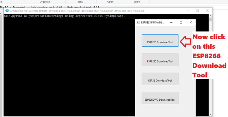 ESP8266 Flash Download Tool