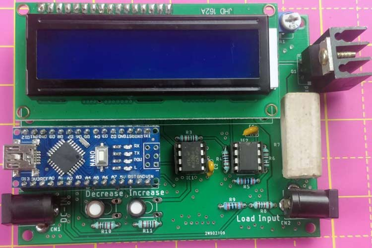 Electronic DC Load using Arduino