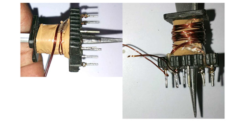 Forming Secondary Winding on Transformer For 5V 2A SMPS Power Supply Circuit