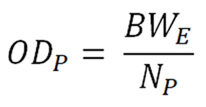 Formula for Diameter of Primary Wires