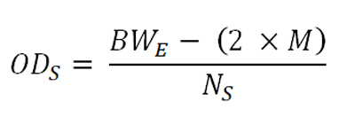 Formula for Diameter of Secondary Wires
