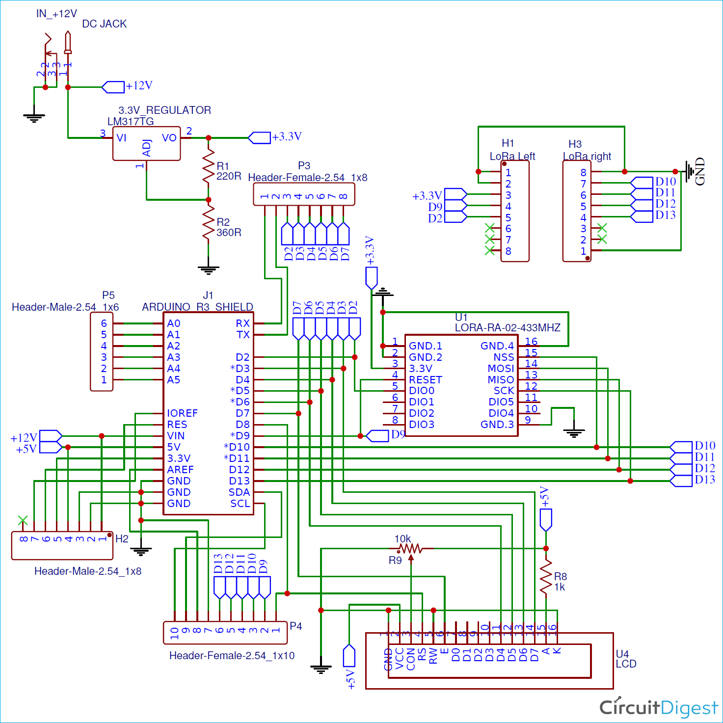 Interfacing LoRa with Arduino UNO