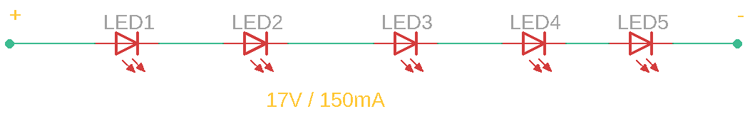LED Series Connection