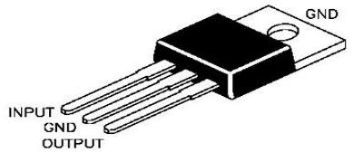 LM7809 Linear Voltage Regulator Pinout