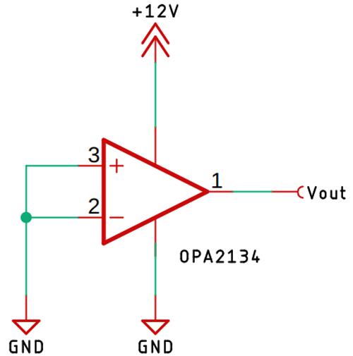 OPA2134 Circuit