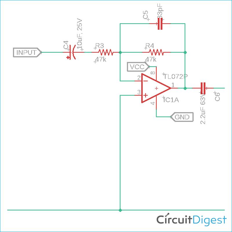 Op Amp Buffer Circuit