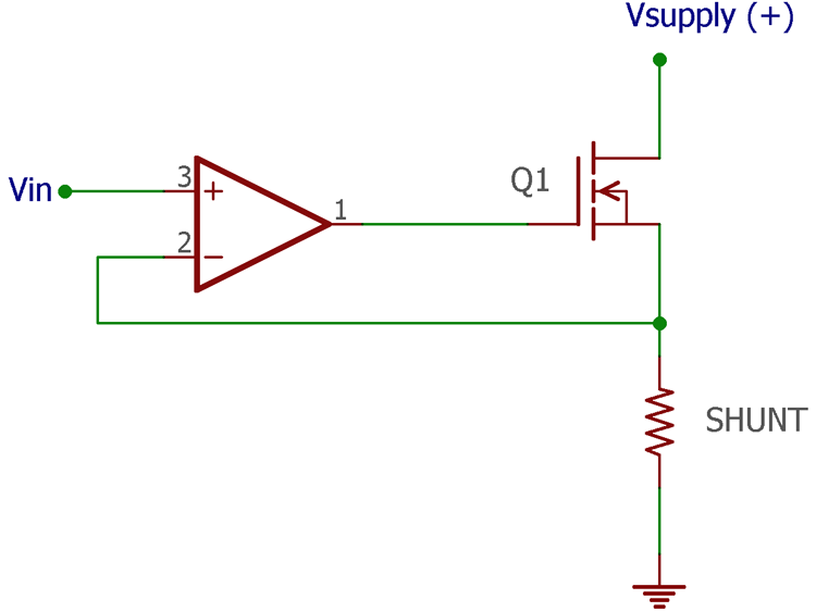 Op-Amp with MOSFET